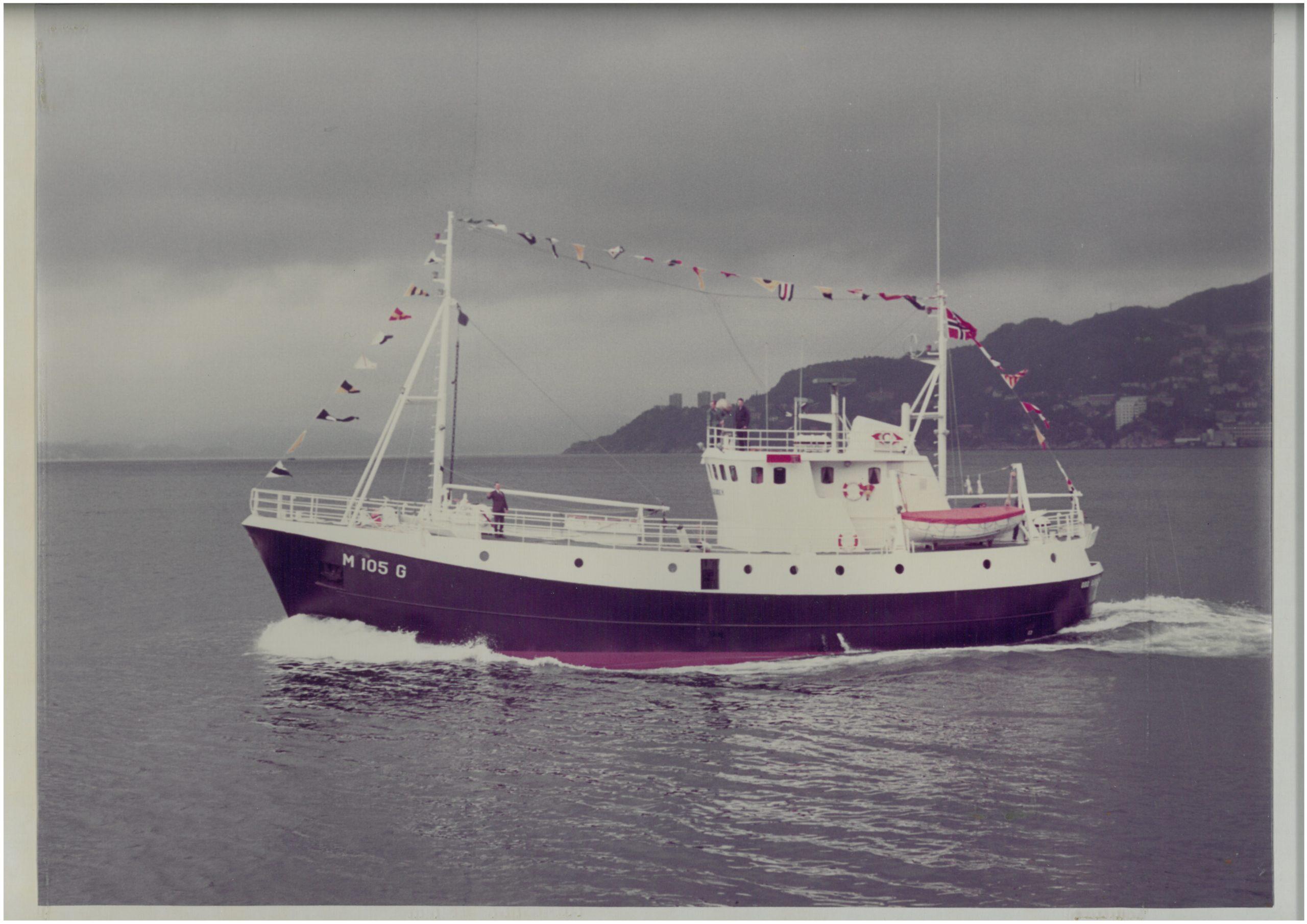 Bilete av linebåten Odd Gjendem